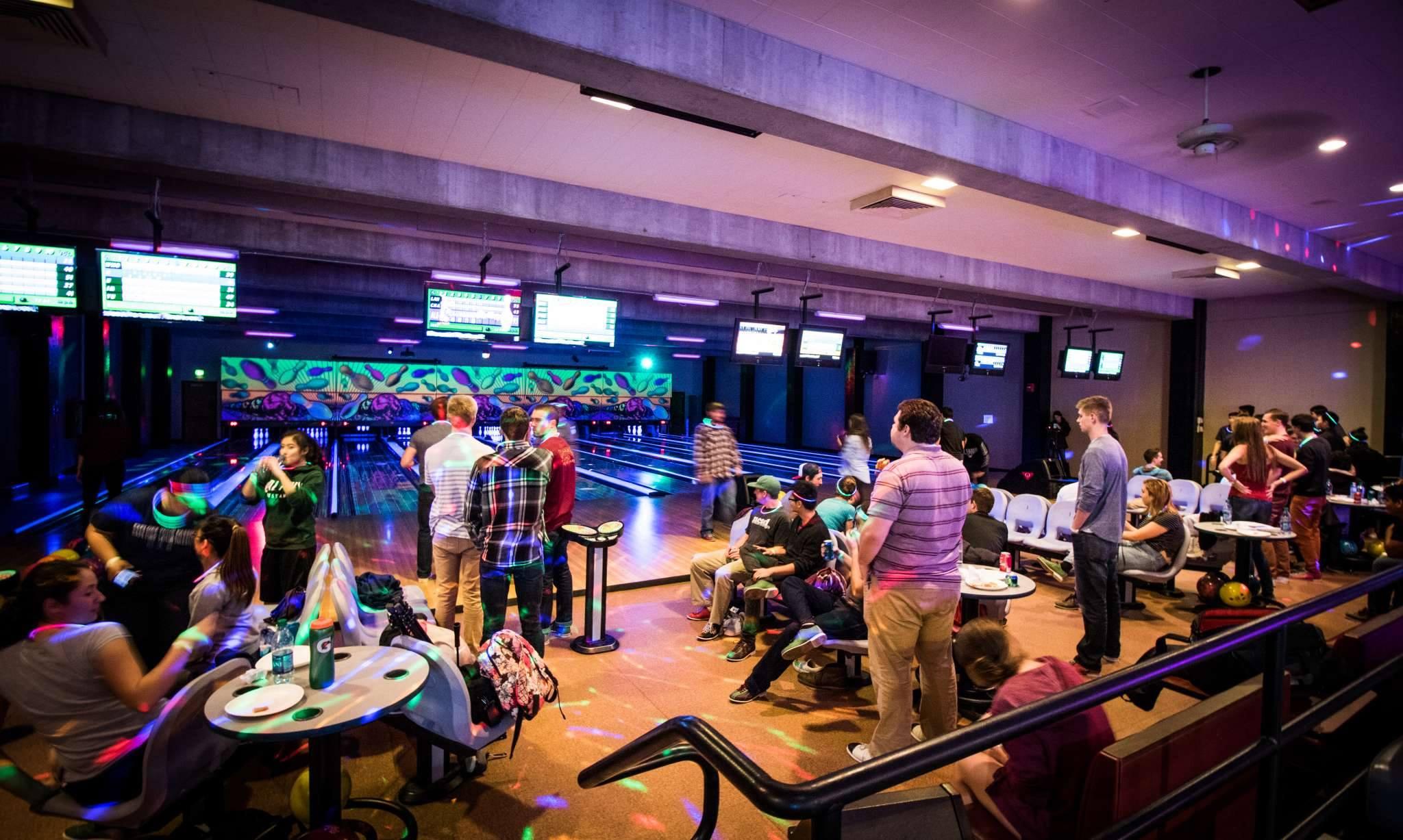 Panorama Lanes Family Fun Centre logo Bowling